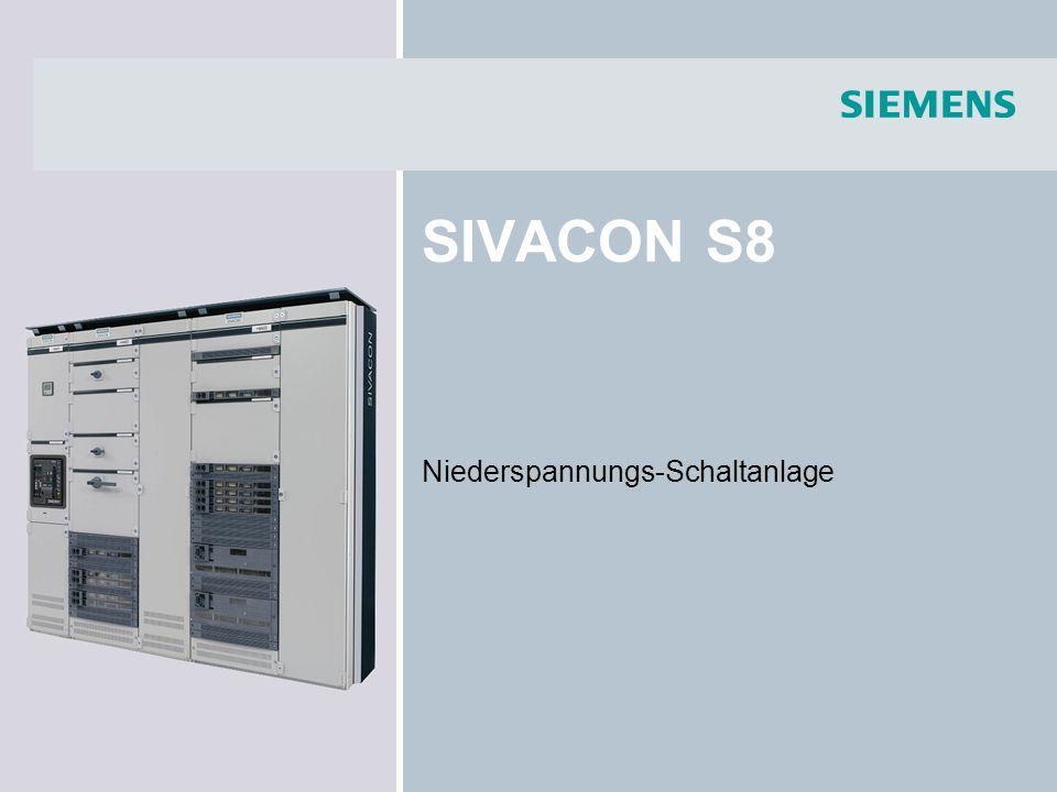 SIVACON S8 Niederspannungs-Schaltanlage