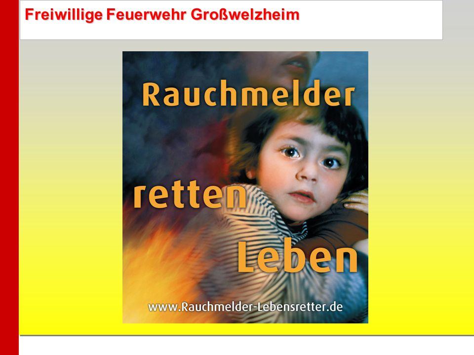 Freiwillige Feuerwehr Großwelzheim Ratgeber für Eltern –Laut Landesfeuerwehrverband Bayern sind fast ein Drittel aller Brandopfer Kinder.