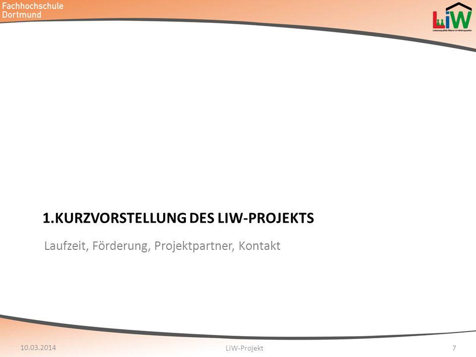 10.03.2014 LiW-Projekt28 Gespaltenes Bild: Knapp 53% sagen, dass selbstverständliche Nachbarschaftshilfe eher nicht oder gar nicht gegeben ist.