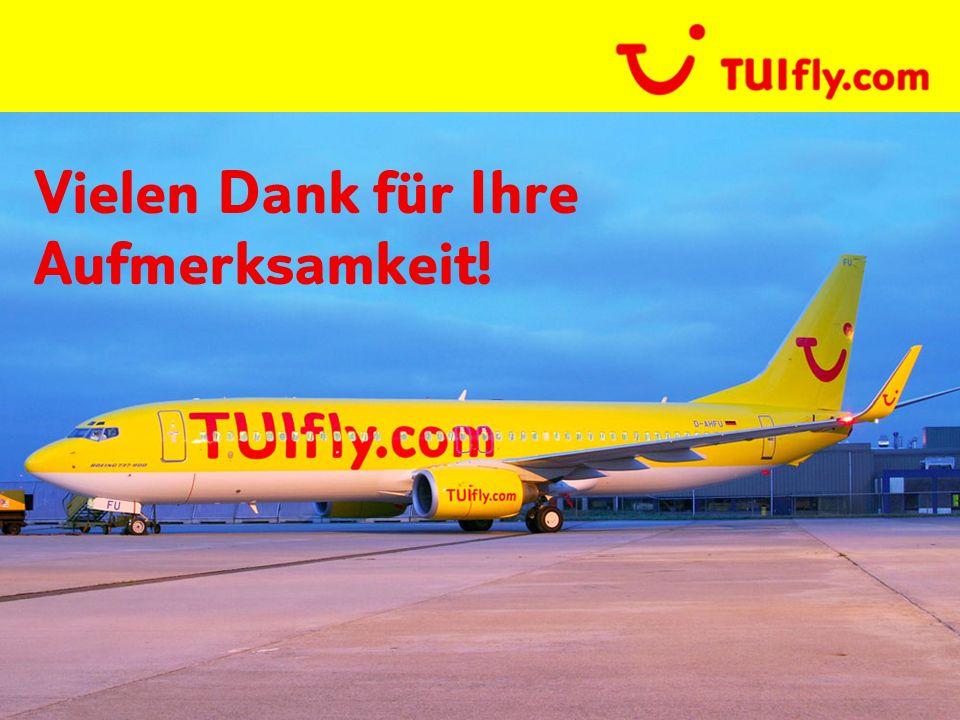 TUIfly   PPT_Templates   10.03.2014   Page 27 Vielen Dank für Ihre Aufmerksamkeit!