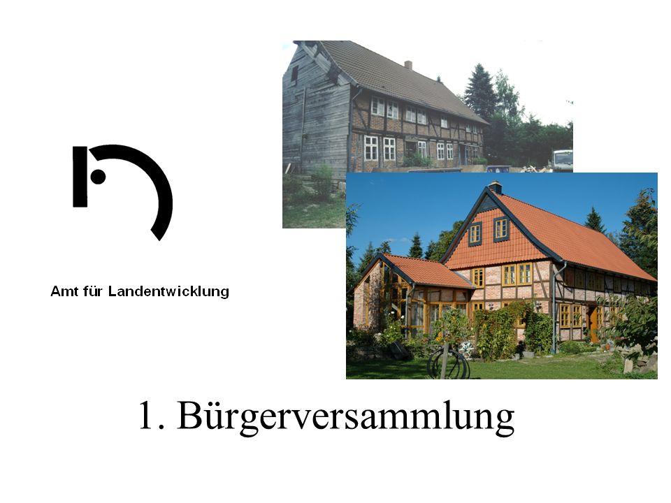 1. Bürgerversammlung