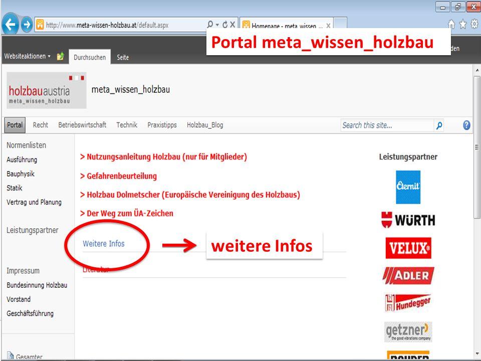 weitere Infos Portal meta_wissen_holzbau