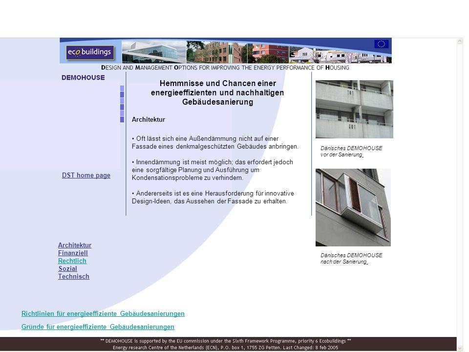 Architektur Oft lässt sich eine Außendämmung nicht auf einer Fassade eines denkmalgeschützten Gebäudes anbringen.
