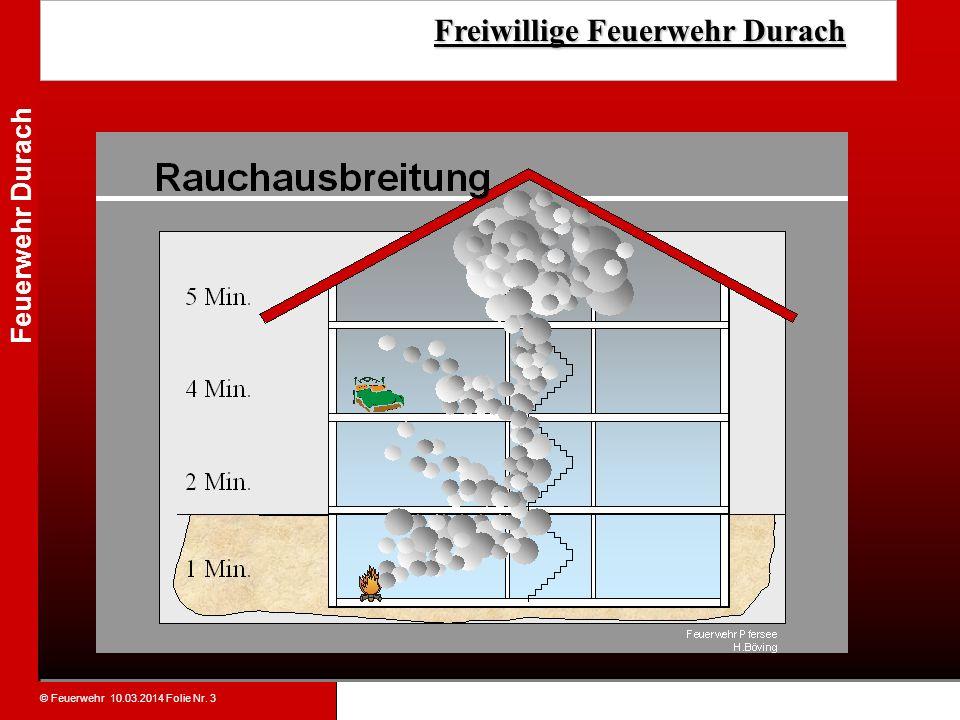© Feuerwehr 10.03.2014 Folie Nr. 3 Feuerwehr Durach Freiwillige Feuerwehr Durach Freiwillige Feuerwehr Durach