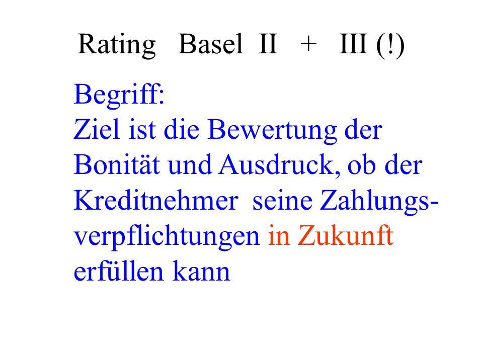 Rating Basel II