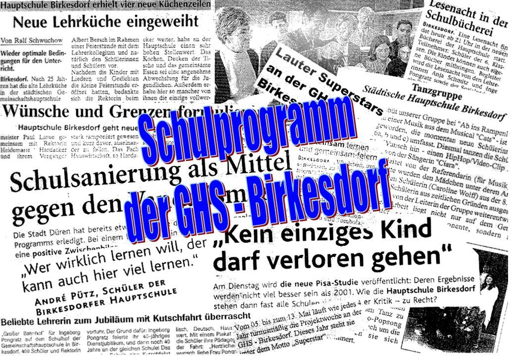 Hauptschule Birkesdorf Wir über uns Adresse: Matthias Claudius Str.