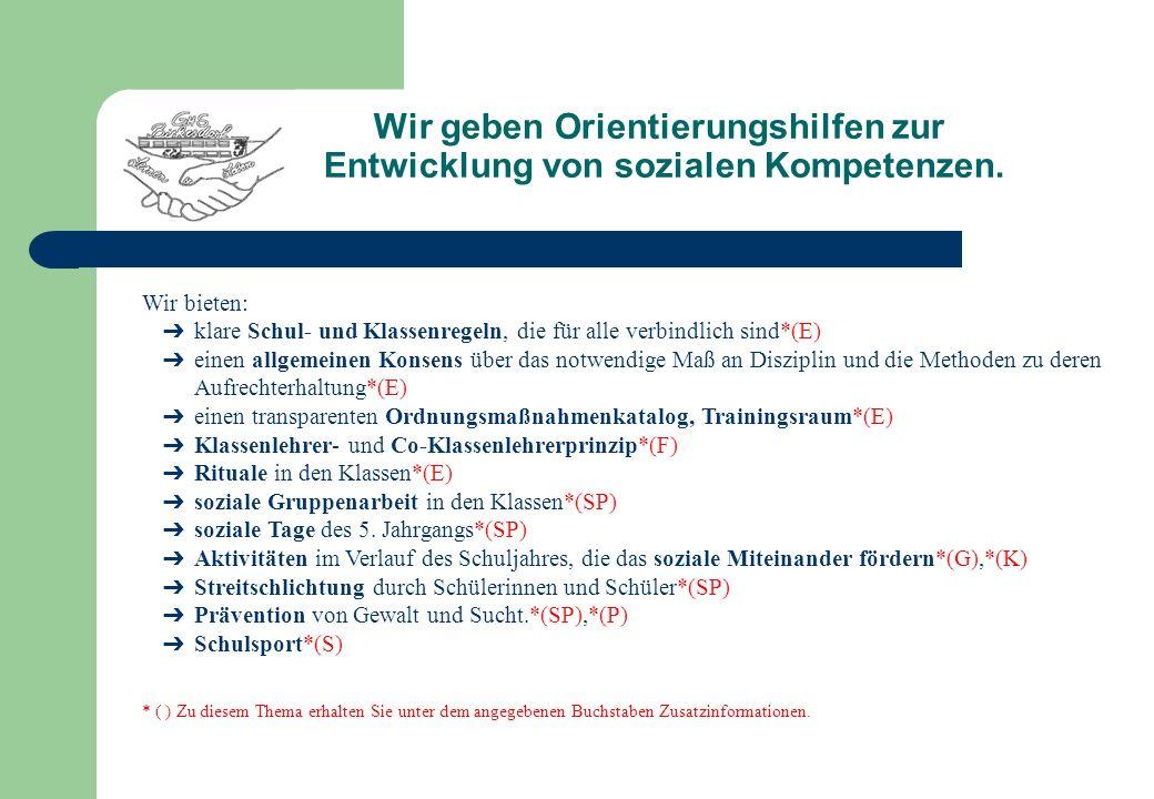 Schulentwicklung der Hauptschule Birkesdorf W ir wollen zuerst nahe und praktikable Ziele erreichen.