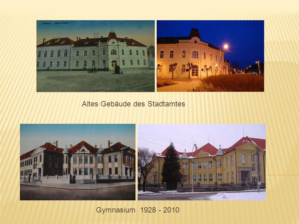 Gymnasium 1928 - 2010 Altes Gebäude des Stadtamtes