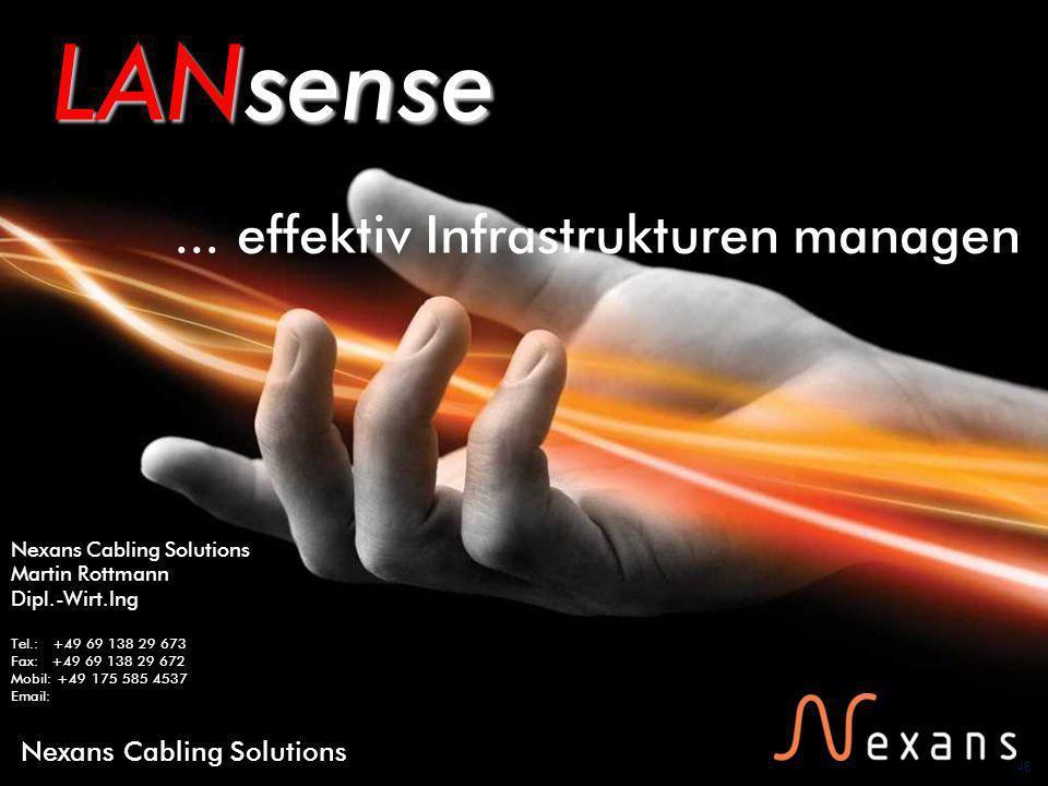 46 Nexans Cabling Solutions LANsense...