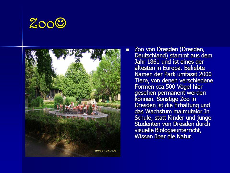 Geschichte des Dresdner Hier ist eine ständige Ausstellung von Vogel öffnete seine Türen am 9.