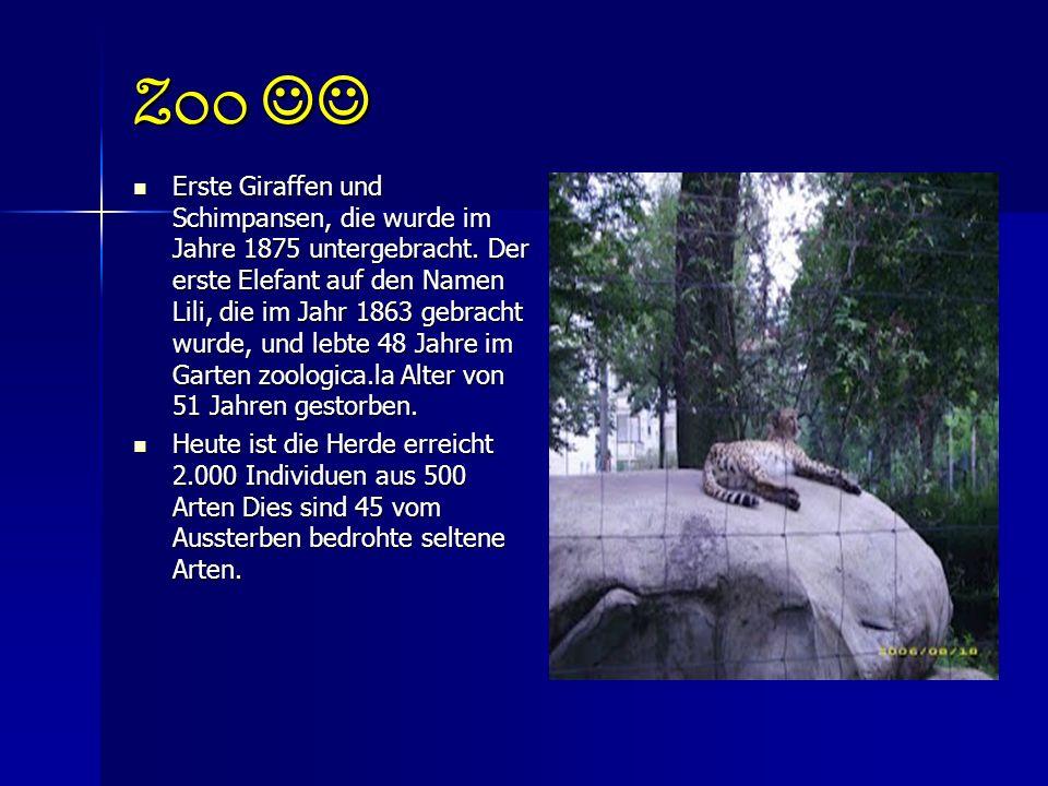 Zoo Zoo Zoo von Dresden (Dresden, Deutschland) stammt aus dem Jahr 1861 und ist eines der ältesten in Europa.
