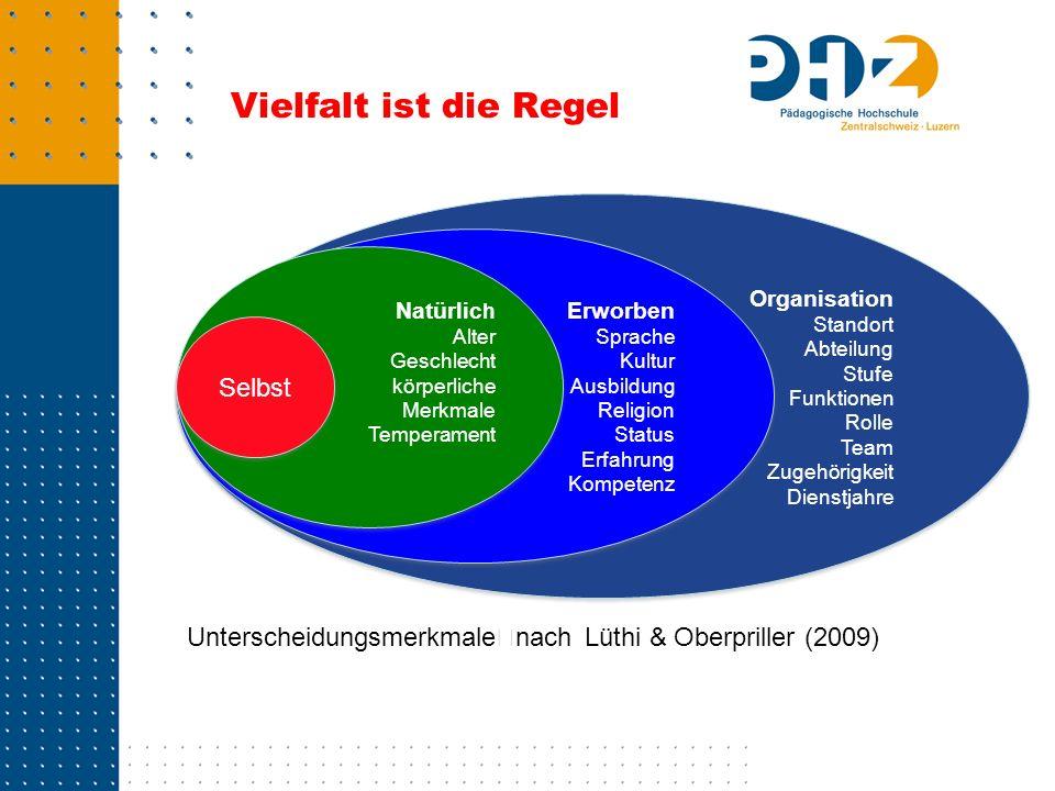 Vielfalt ist die Regel Organisation Standort Abteilung Stufe Funktionen Rolle Team Zugehörigkeit Dienstjahre Organisation Standort Abteilung Stufe Fun