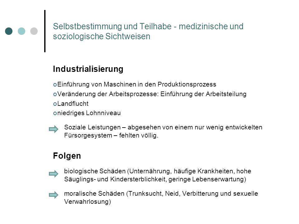 Industrialisierung Einführung von Maschinen in den Produktionsprozess Veränderung der Arbeitsprozesse: Einführung der Arbeitsteilung Landflucht niedri