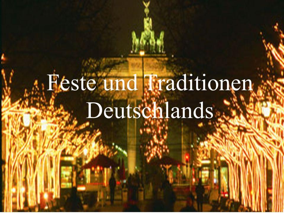 Feste und Traditionen Deutschlands