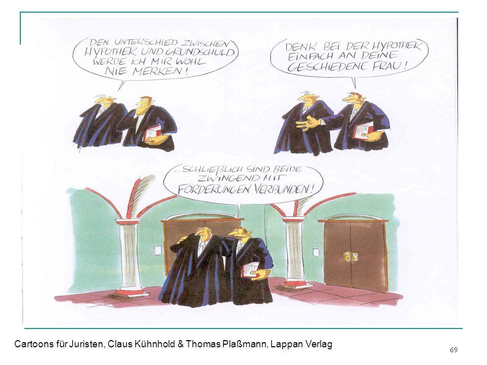 69 Cartoons für Juristen, Claus Kühnhold & Thomas Plaßmann, Lappan Verlag