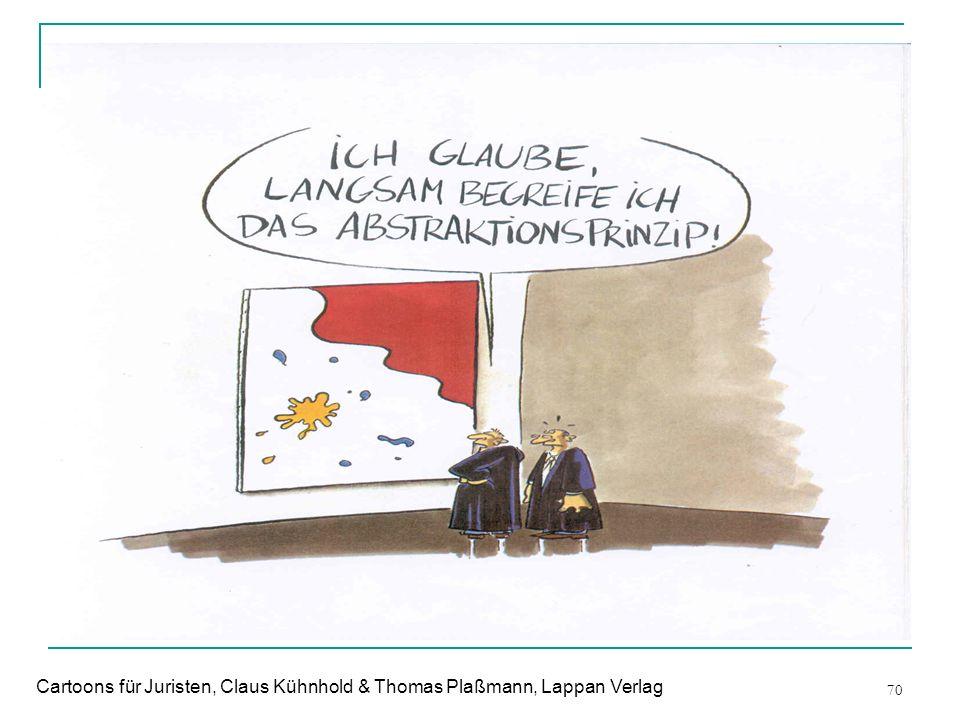 70 Cartoons für Juristen, Claus Kühnhold & Thomas Plaßmann, Lappan Verlag