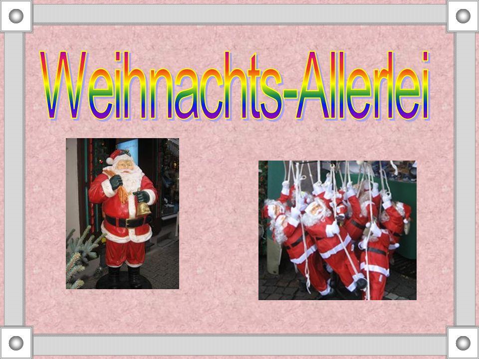 Der erste Weihnachts- baum wurde in Deutschland 1539 aufgestellt. Das war in Strassburg.