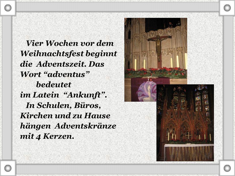 Name: Weihnachtsmann Familiengeschichte: Bis zum Jahre 1535 brachte der Heilige Nikolaus die Geschenke für die deutschen Kinder.