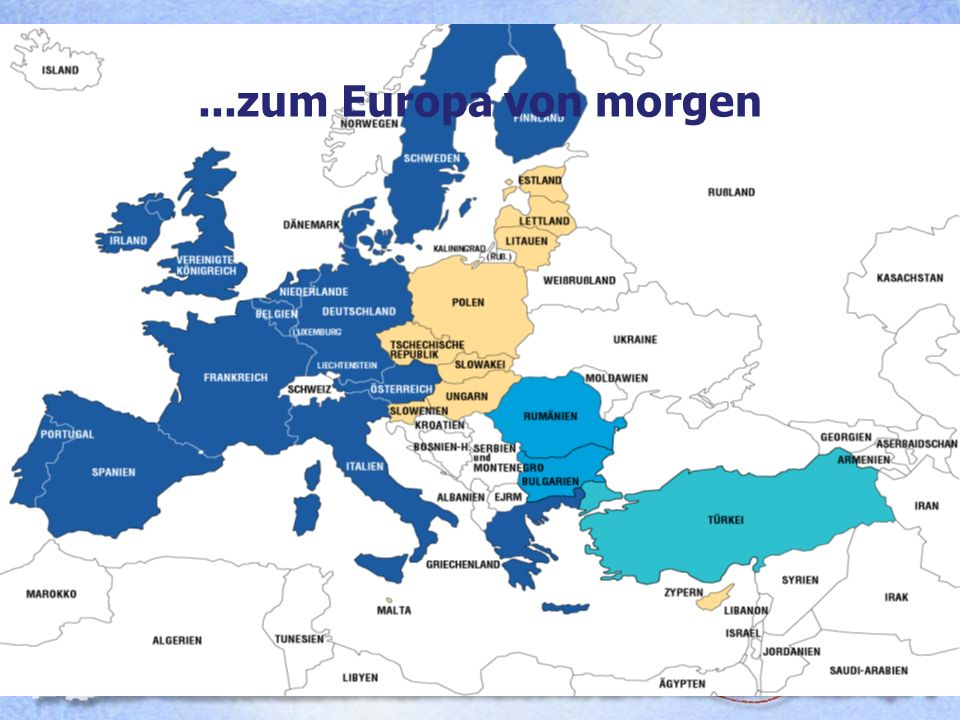 Das Europa von morgen 13. Dezember 2002...zum Europa von morgen