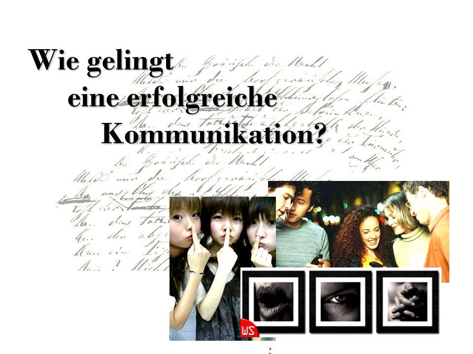 Inhalt Vorwort 1.Was bedeutet Kommunikation.