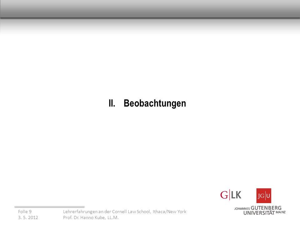 III.Möglichkeiten und Grenzen des Methodenimports 3.