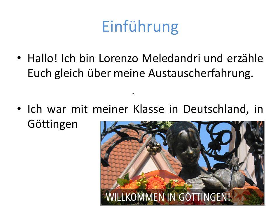 DIE MONTESSORI – SCHULE GÖTTINGEN Die Schule unserer Freunde heißt Montessori-Schule Göttingen.