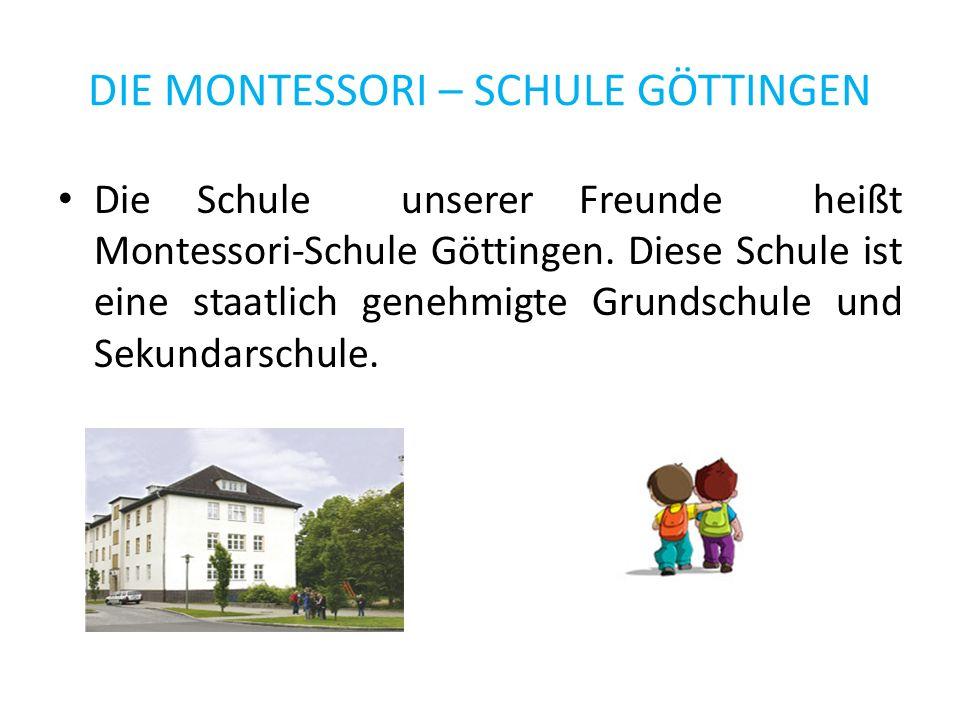 MERKMALE Die Klasse von meinen deutschen Freunde bestand aus zehn- und elfjährigen Mädchen und Jungen.