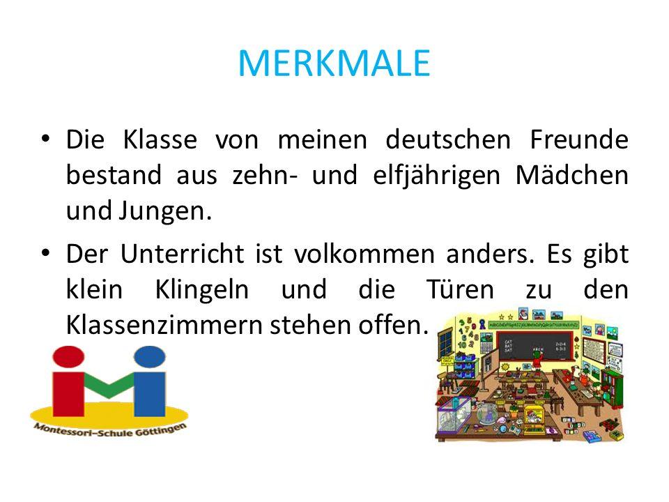 Shhh.Die Schüler der Montessori-Schule in Göttingen sind sehr diszipliniert.