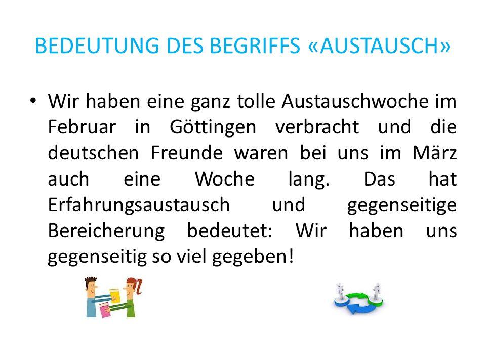 GÖTTINGEN Göttingen ist eine hübsche, kleine Stadt in Niedersachsen und es ist berühmt für seine Universität.