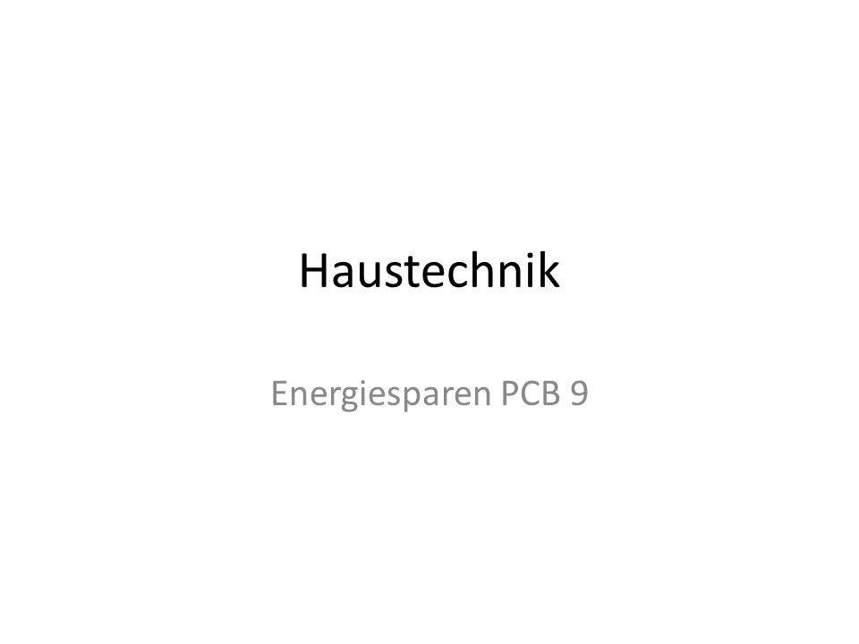 Haustechnik Energiesparen PCB 9