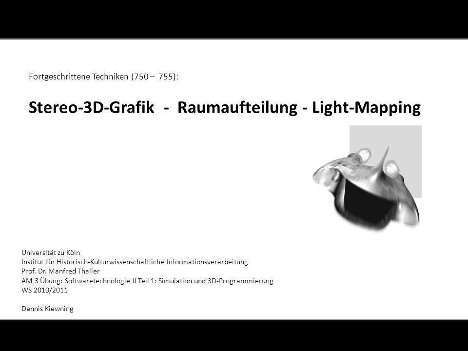 Universität zu Köln Institut für Historisch-Kulturwissenschaftliche Informationsverarbeitung Prof.