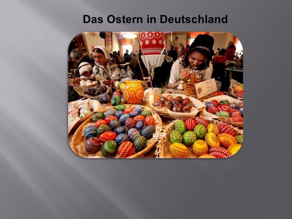 Das Ostern in Deutschland