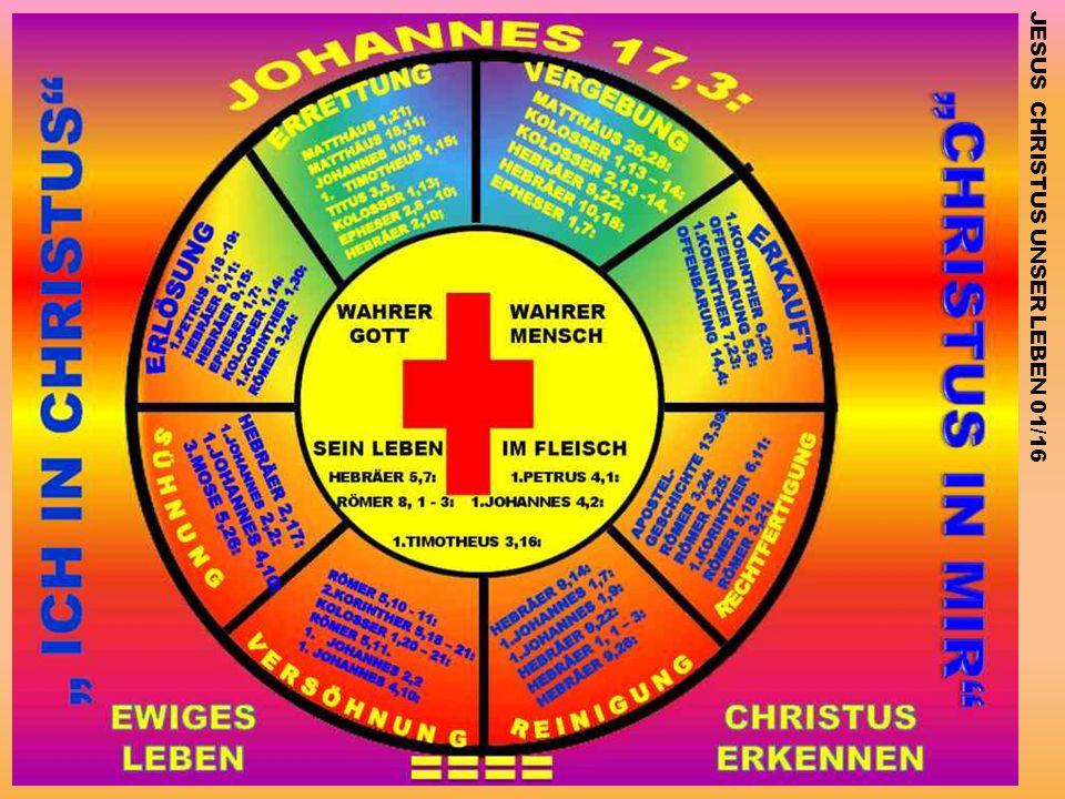 JESUS CHRISTUS UNSER LEBEN 01/16