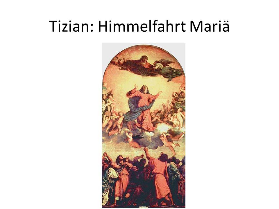Tizian: Himmelfahrt Mariä