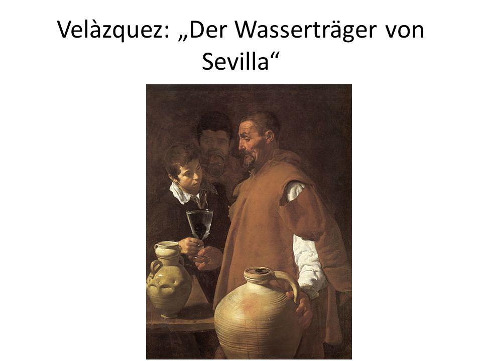 Velàzquez: Der Wasserträger von Sevilla