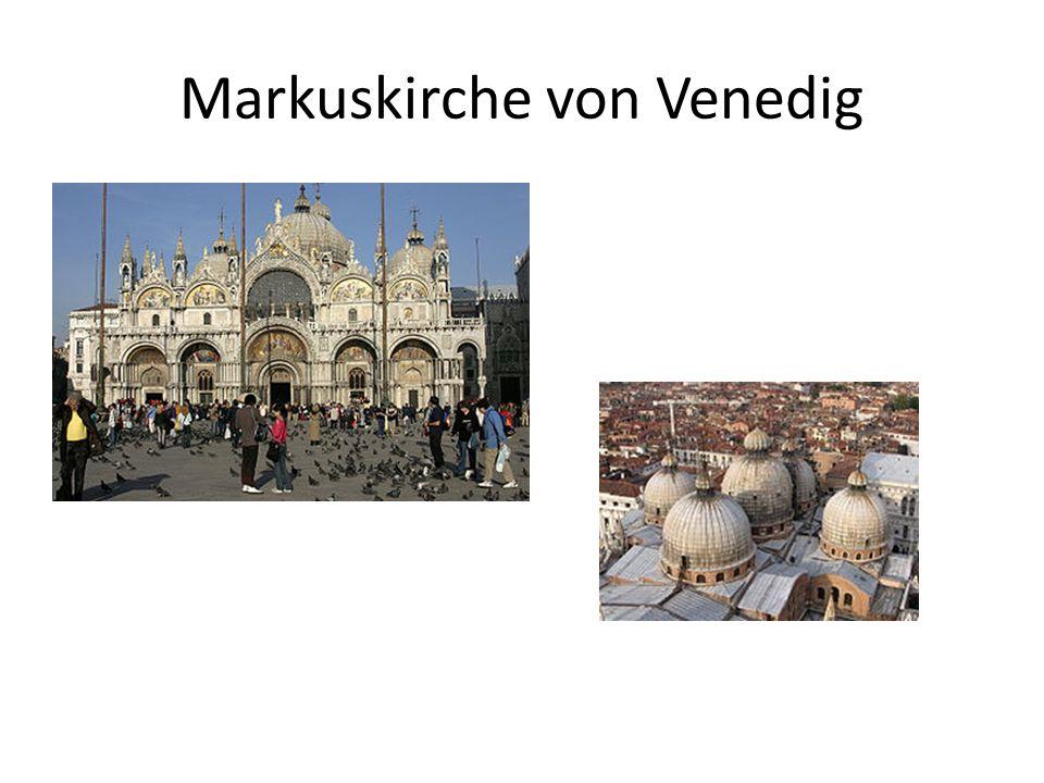 Markuskirche von Venedig