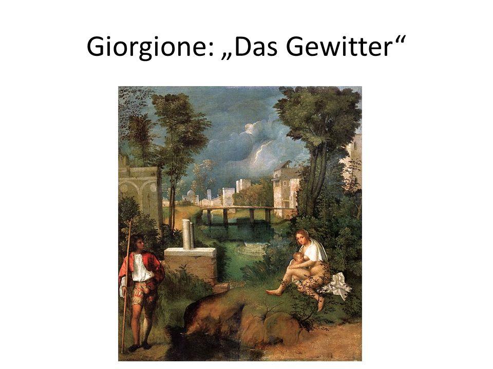 Giorgione: Das Gewitter
