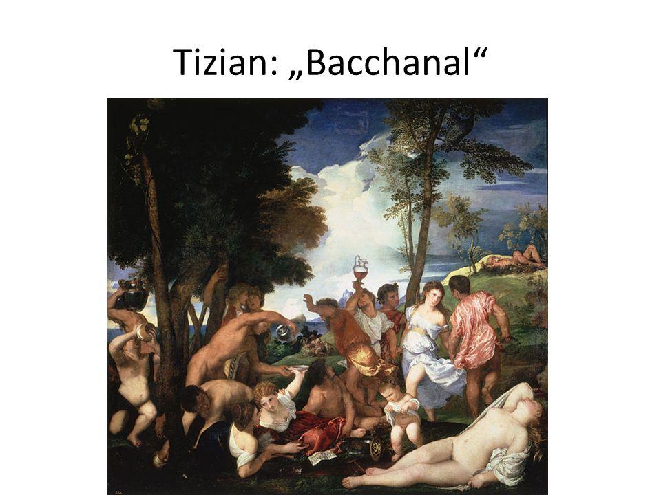 Tizian: Bacchanal