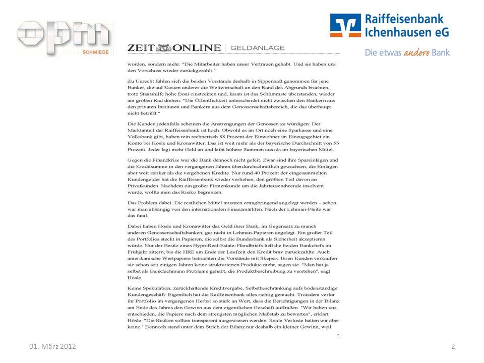 Führen ohne Druck 01. März 20122
