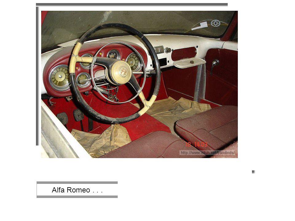 Alfa Romeo...