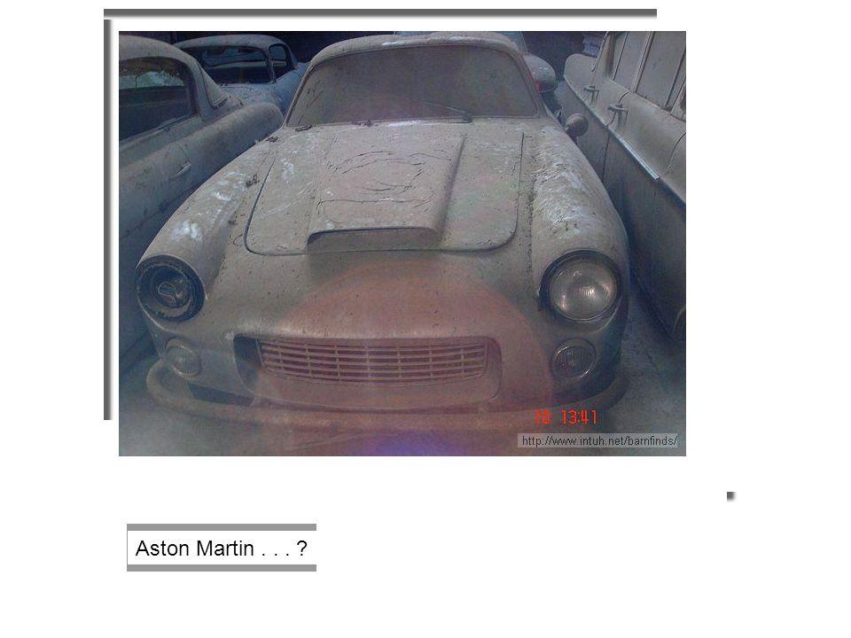 Aston Martin... ?