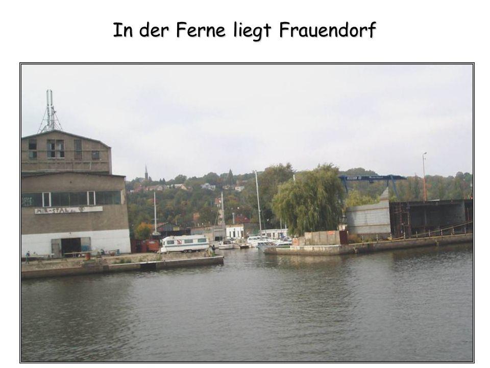 In der Ferne liegt Frauendorf