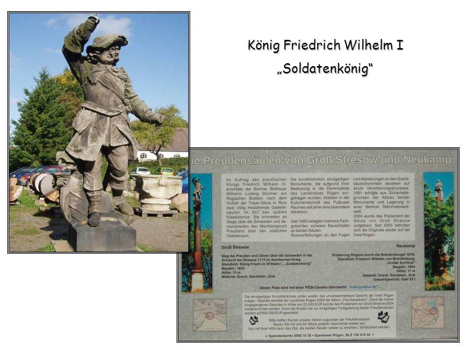 König Friedrich Wilhelm I Soldatenkönig