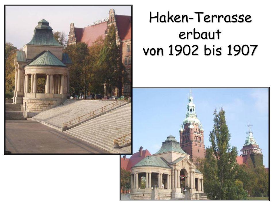 Haken-Terrasse erbaut von 1902 bis 1907