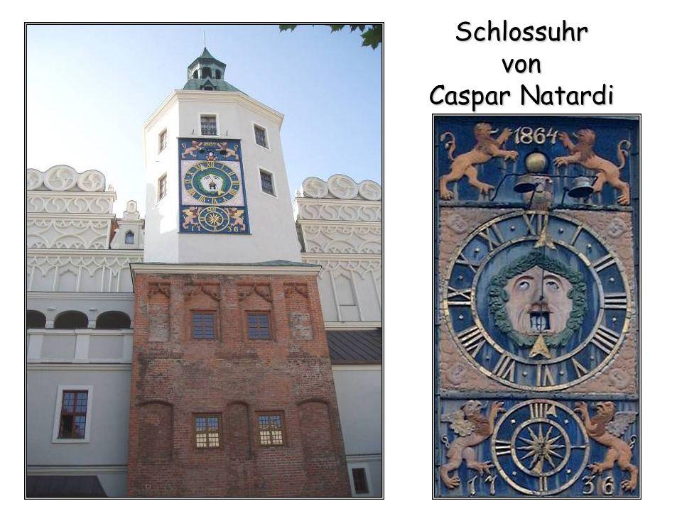 Schlossuhr von Caspar Natardi