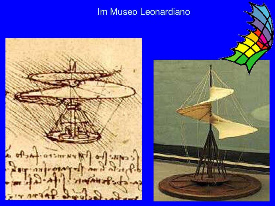 15 Besuch im Museo Leonardiano in Vinci