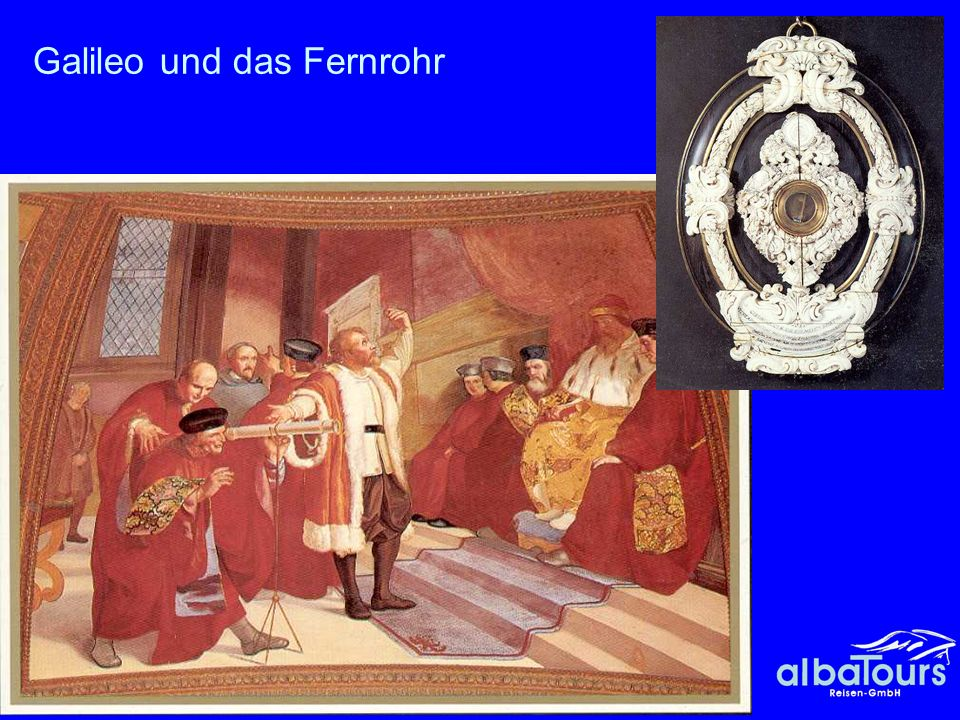 22 Galileis Versuche zur Isochronie am Leuchter von Pisa