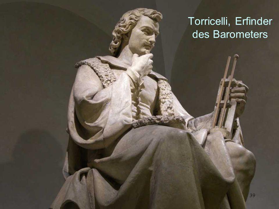 38 Torricelli, Erfinder des Barometers
