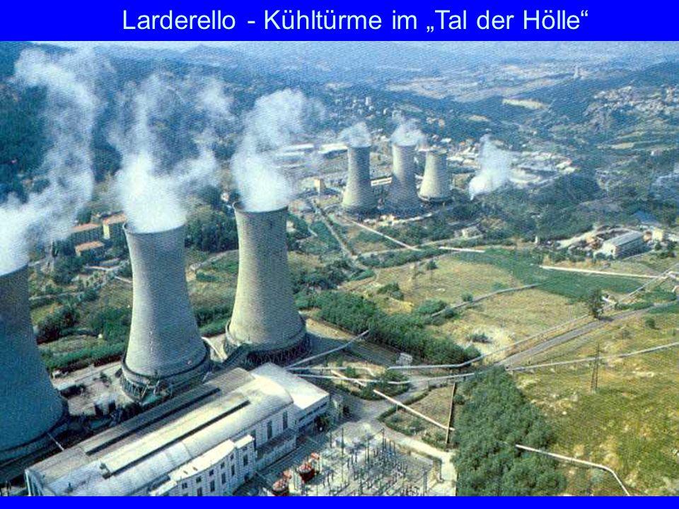 45 Larderello ältestes und einziges geothermisches Kraftwerk Europas Seit 1904