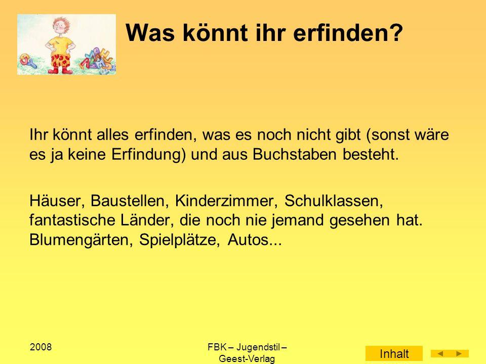 2008FBK – Jugendstil – Geest-Verlag Der seit 1970 in NRW tätige Friedrich-Bödeckerkreis e.V.